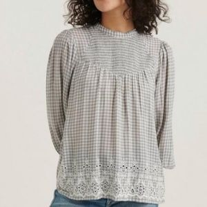 NWT Nila Embroidered Blouse